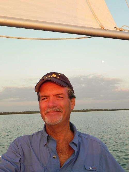 Macomber Sailing Through Matlacha Pass in SW FL