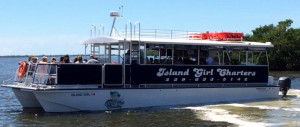 Macomber Tours on Island Girl Charters at Pineland Marina on Pine Island, Florida