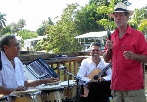 Live Cuban Music at Macomber's Pine Island Reader Rendezvous in 2015