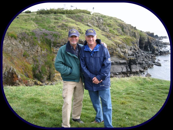 Wakian Sighting in Cornwall, England at Lizard Point with my former colleague Keith Saunders [Sept'09]