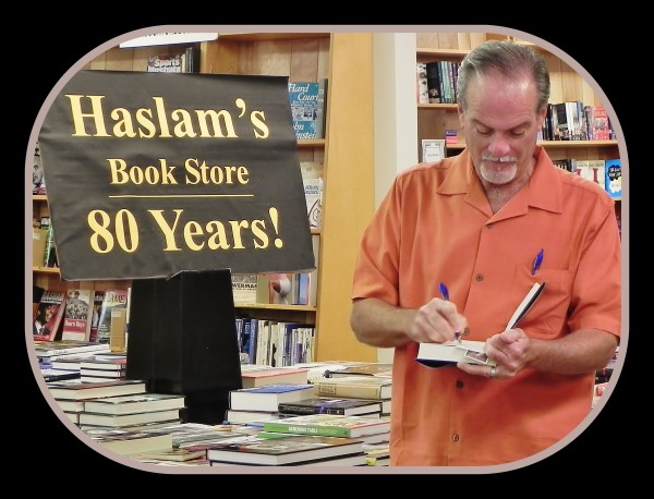Started in 1933, Haslam's Book Store is a tradition when I'm on book tour, and I'm thrilled to report we sold out of the hard copies of The Assassin's Honor at my book signing there [October 2015]