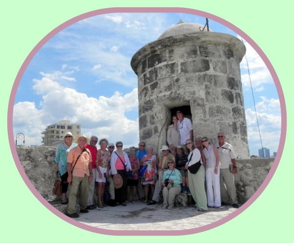 Punta Fortress [Museo de la Punta] in Havana, Cuba for author & historian, Robert N. Macomber's inaugural Havana Reader Rendezvous ~ what a tour!