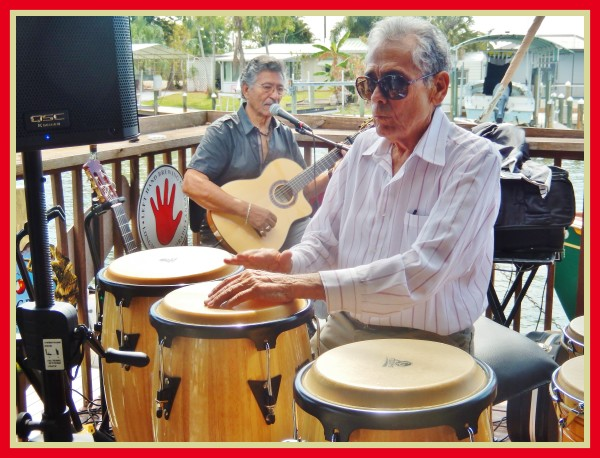 A highlight at Robert N. Macomber's 14th Annual Pine Island Reader Rendezvous is having music by The Cuban Duo ~ a great beat makes you want to dance!