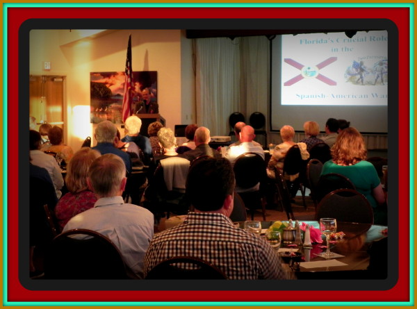 Author & historian Robert N. Macomber helped draw a crowd for the Friends of the Ft. Myers Library fundraiser.