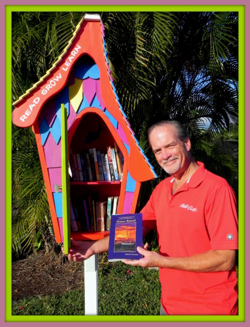 Merry Christmas to Little Free Libraries around the world, their readers and contributors [Robert N. Macomber is proud to be one]!
